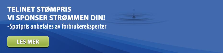 Telinet Spotpris Kampanje - Vi sponser strømmen din